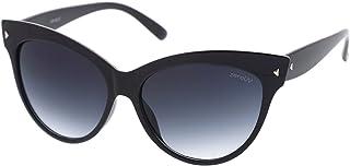 zeroUV ZV-8462d Wayfarer anteojos de sol para mujer