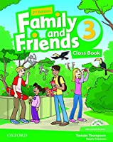 Family and Friends: Level 3: Class Book with Student MultiROM