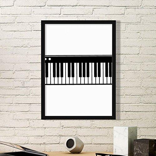 DIYthinker Vitalidad eléctrica Piano La música Suena Simple de Fotos Marco de...
