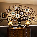 Simple Shapes Family Tree Wall Decal by Simple Shapes (Chestnut Brown, Standard Size: 107' w x 90' h)