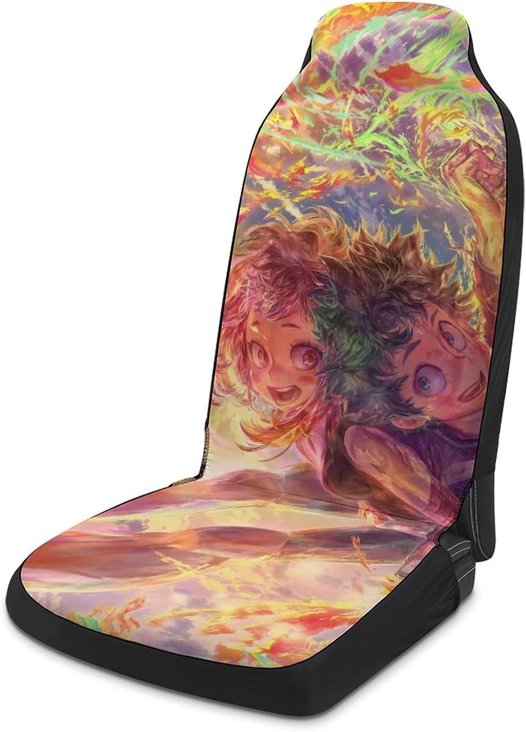 Izuku Midoriya Ochaco Uraraka Excellence Seat Covers Car Protecto OFFicial mail order
