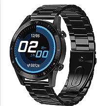 Fitness Tracker Smart Horloge Waterdicht IP68 Bluetooth Ronde Smartwatch met Bericht Melding Rich Dial Mannen En Vrouwen O...