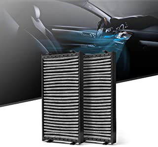 KAFEEK Cabin Air Filter Fits CUK 2941-2, CF10936, 64316945586, 64116945594, 64119248294, 64316645585, 64316945585, Replacement for BMW X5, X6, Includes Activated Carbon
