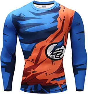 Camisa Manga Longa Son Goku Dragon Ball Z