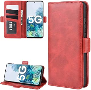 YPshell Phone Case For For Samsung Galaxy S20 FE 4G / 5G Dual-side Magnetic Buckle Horizontal Flip Leather Case with Holde...