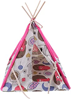 Dolity Dog Teepee Removable Pet Kennels Pet Play House Dog Play Tent Cat/Dog Bed - 03