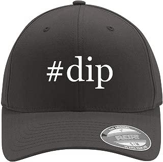 #dip - Adult Men's Hashtag Flexfit Baseball Hat Cap