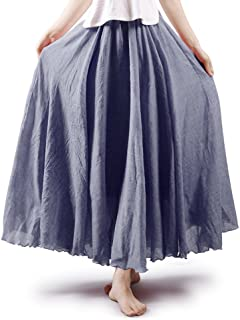long flowy dance skirts