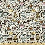 Lunarable Kaffeestoff von The Yard, Kaffee und