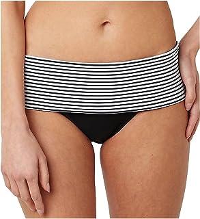 Panache Women Anya Briefs Striped Bikini Bottoms