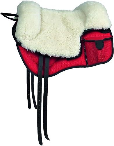 Ombrie d'équitation bareback techno-sympanova Siège laine C poches