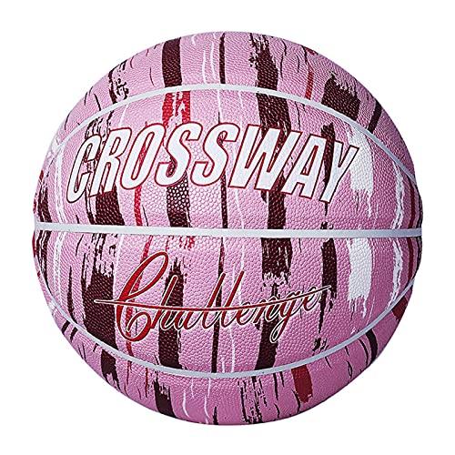 Huaji Impresión de baloncesto duradera de alta elasticidad, adecuada para interiores y exteriores, mujeres, niñas y adolescentes