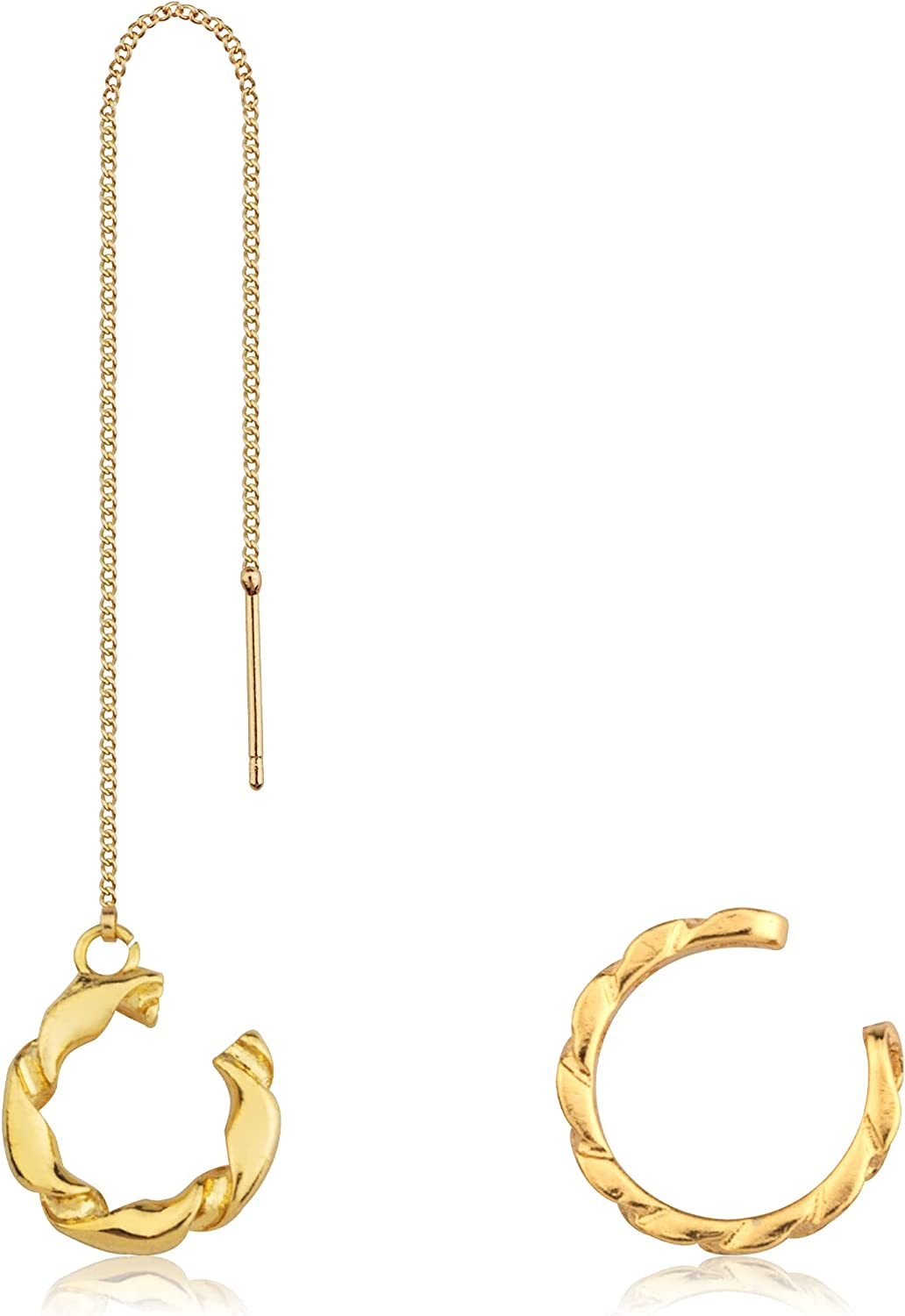 Cecillia Chain SEAL limited product Earring Cuff for On Free Shipping Cheap Bargain Gift Cartilage Clip Women