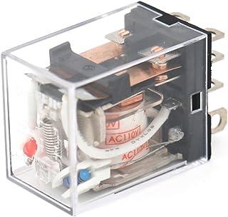 Baomain General Purpose Power Relay JQX-13F AC 110V Coil LED Indicator 8 pin Terminal
