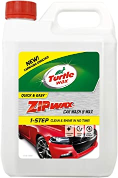 Turtle Wax 52821 Zip Wax Super Concentrated Car Wash Shampoo & Wax 2.5 Litre: image