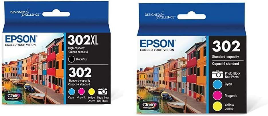 Epson T302XL-BCS Claria Premium Ink - High- Finally resale start Cartridge Ranking TOP13 Multi-Pack