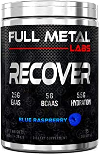 Full Metal Labs Recover - All-in-one Branch Chain Amino acids, Essential Amino acids, and a Premium Hydration Matrix