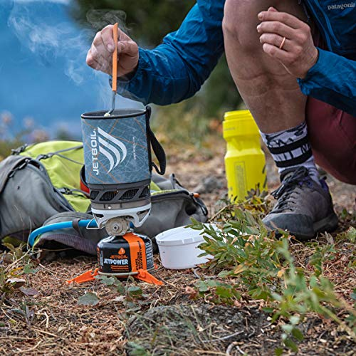 Jetboil MicroMo Camping and Backpacking Stove Cooking System, Carbon Black