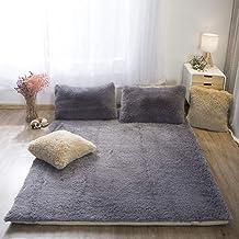 Comfortable Mattress Washable Plush Mattress, Premium Mattress Topper Japanese Futon Tatami mat Sleeping with Removable Zi...