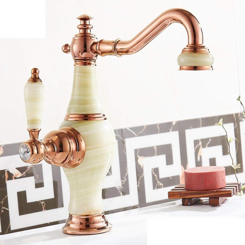 Oudan Küchenarmatur warme und kalte Spüle Wasserhahn-C (Farbe   -, Gre   -)