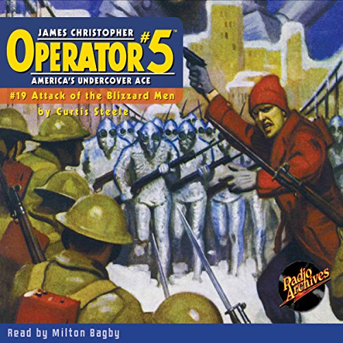Couverture de Operator #5 #19, October 1935