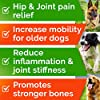 All-Natural Hemp Chews + Glucosamine for Dogs - Advanced Hip & Joint Supplement w/Hemp Oil Turmeric MSM Chondroitin + Hemp Protein to Improve Mobility - Joint Pain Relief Made in USA - Duck Flavor #3