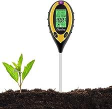 Bodentester,AIEVE 3 in 1 PH Wert Boden Tester Messger/ät Feuchtigkeit Meter f/ür Pflanzen Garten Erde Indoor Outdoor keine Batterie erforderlich
