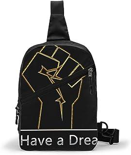 Black Lives Matter Bolso Bandolera De Hombre Bolso Cruzada Hombre Bolsa De Pecho Sling Bag Crossbody Para Al Aire Libre Ca...