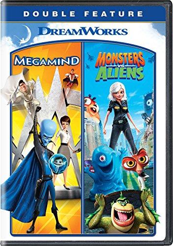 Megamind / Monsters vs. Aliens Double Feature [DVD]