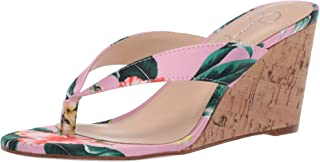 Jessica Simpson Women's Coyrie Wedge Sandals, Pink Multi, 9 M US