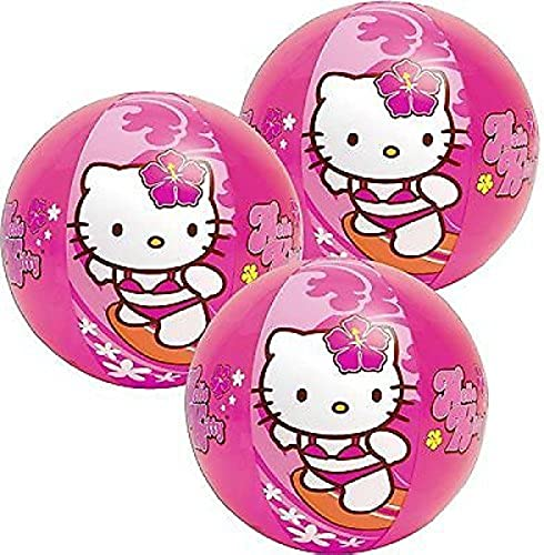 Las ventas en línea ahorran un 70%. Hello Hello Hello Kitty Beach Ball 20 Inch [3 Retail Unit(s) Pack] - 58026EP by Up  100% garantía genuina de contador