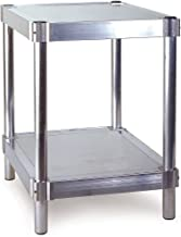 PVIFS A202424-2 Equipment Stand with 2 Adjustable Solid Shelves, 400 lbs Shelf Capacity, 24