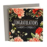 Hallmark Signature Wedding Card (May Happiness Go With You Always) - 499RZH6207