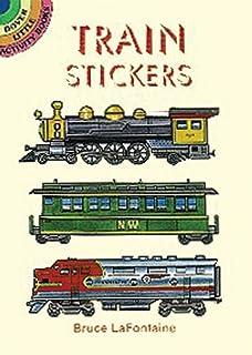 Dover Publishing Little Activity Books: Train Stickers