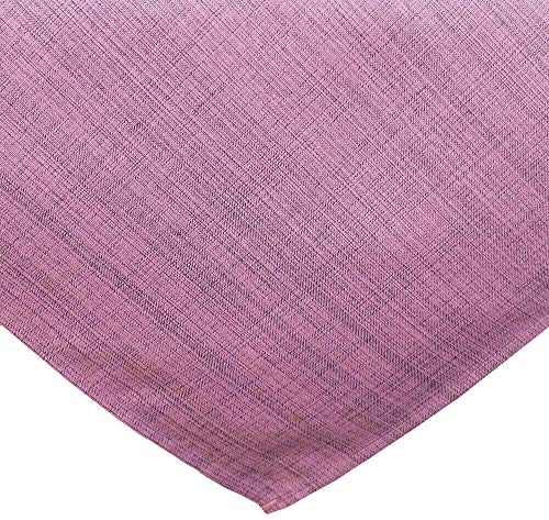 matches21 Tuintafelkleed Outdoor tafelkleed Tuintafelkleed wasbaar weerbestendig 7 kleuren - PINK - maat: 90x90 cm roze