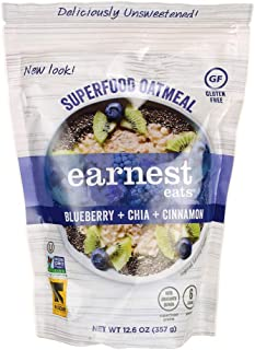 Hot & Fit Cereal - Superfood Blueberry Chia 12.6 Ounce (357 g) Pkg