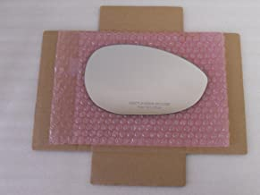HEATED Mirror Glass with BACK PLATE for FIAT 500 Passenger Side View Right RH