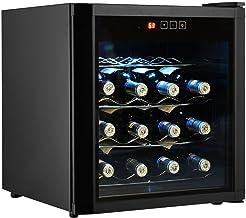 New 16 Bottles Wine Cooler Fridge Cellar Storage Holder Chiller Bar Rack Cabinet