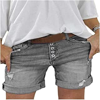 Doufine Women Casual Short Pant High Waisted Sexy Loose Shorts