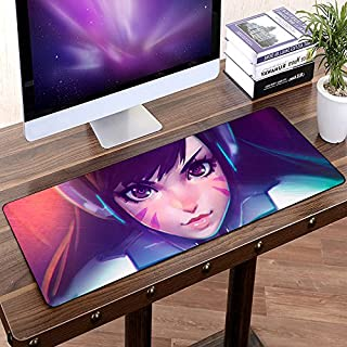 Large Rubber Game Overwatch Mouse pad Gaming keyboard mousepad 80*30cm L XL gamer Non slip genji D.VA Zarya Symmetra Mercy