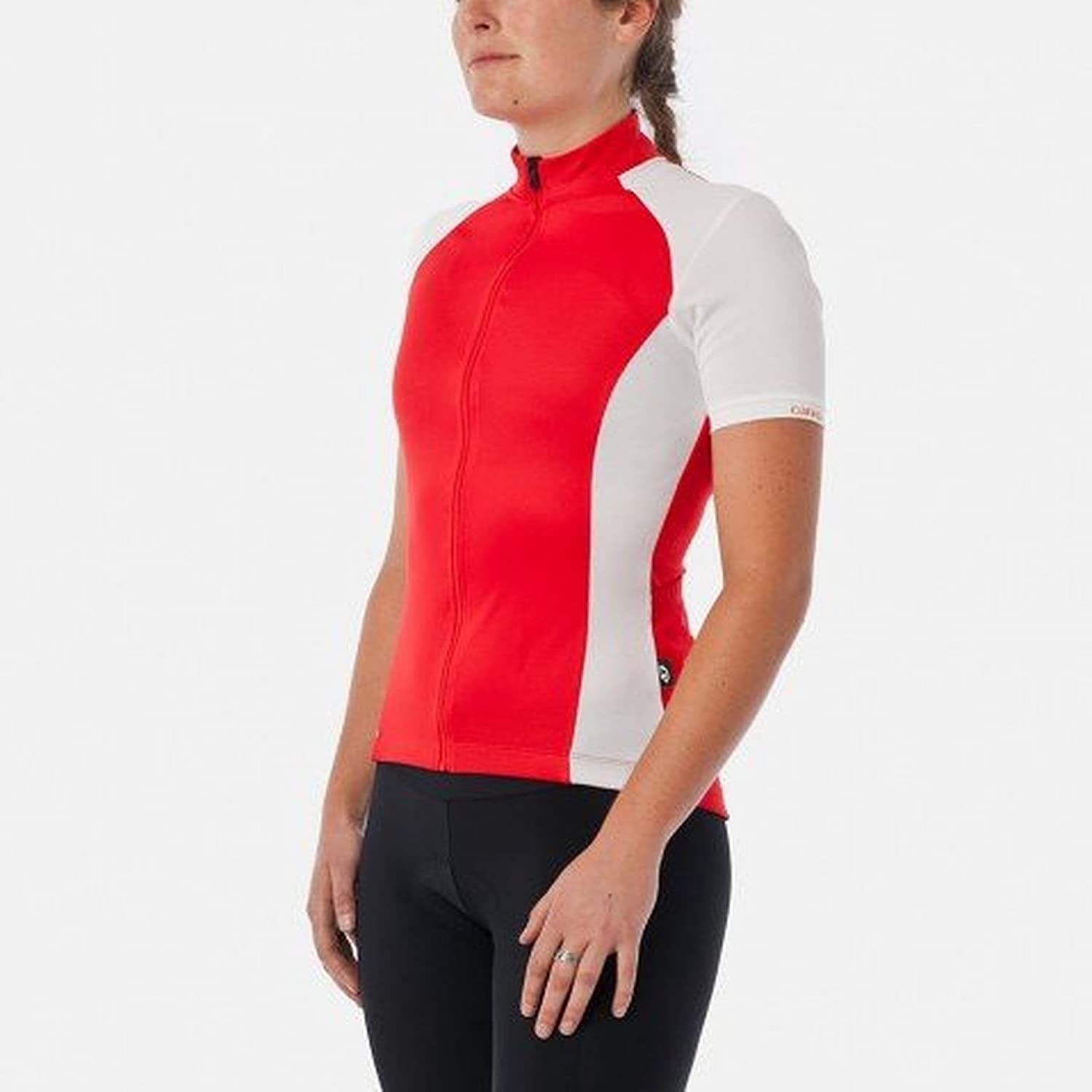 Giro Chrono Sport Short Sleeve Jersey Red White Size L 2016 Short Sleeve