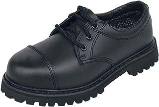 Dettagli su Brandit Nero Bw Anfibi Modello 2000 Tedesca Para Stile Stivali