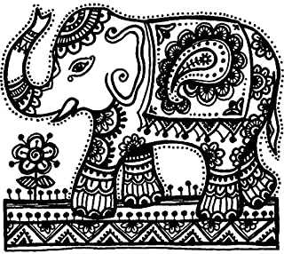 Best indian elephant rubber stamp Reviews