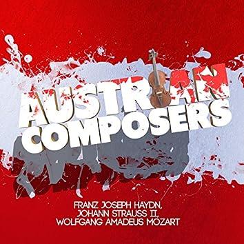 Austrian Composers: Franz Joseph Haydn, Johann Strauss II, Wolfgang Amadeus Mozart