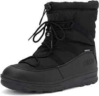 comprar comparacion Botas Nieve Mujer Invierno Botines Caliente Zapatos Piel Forrado Impermeable Calzado Plataforma Outdoor Boots