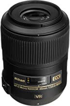 Nikon AF-S DX Micro NIKKOR 85mm f/3.5G ED VR Lens with Creative Filter Kit and Pro Cleaning Accessories