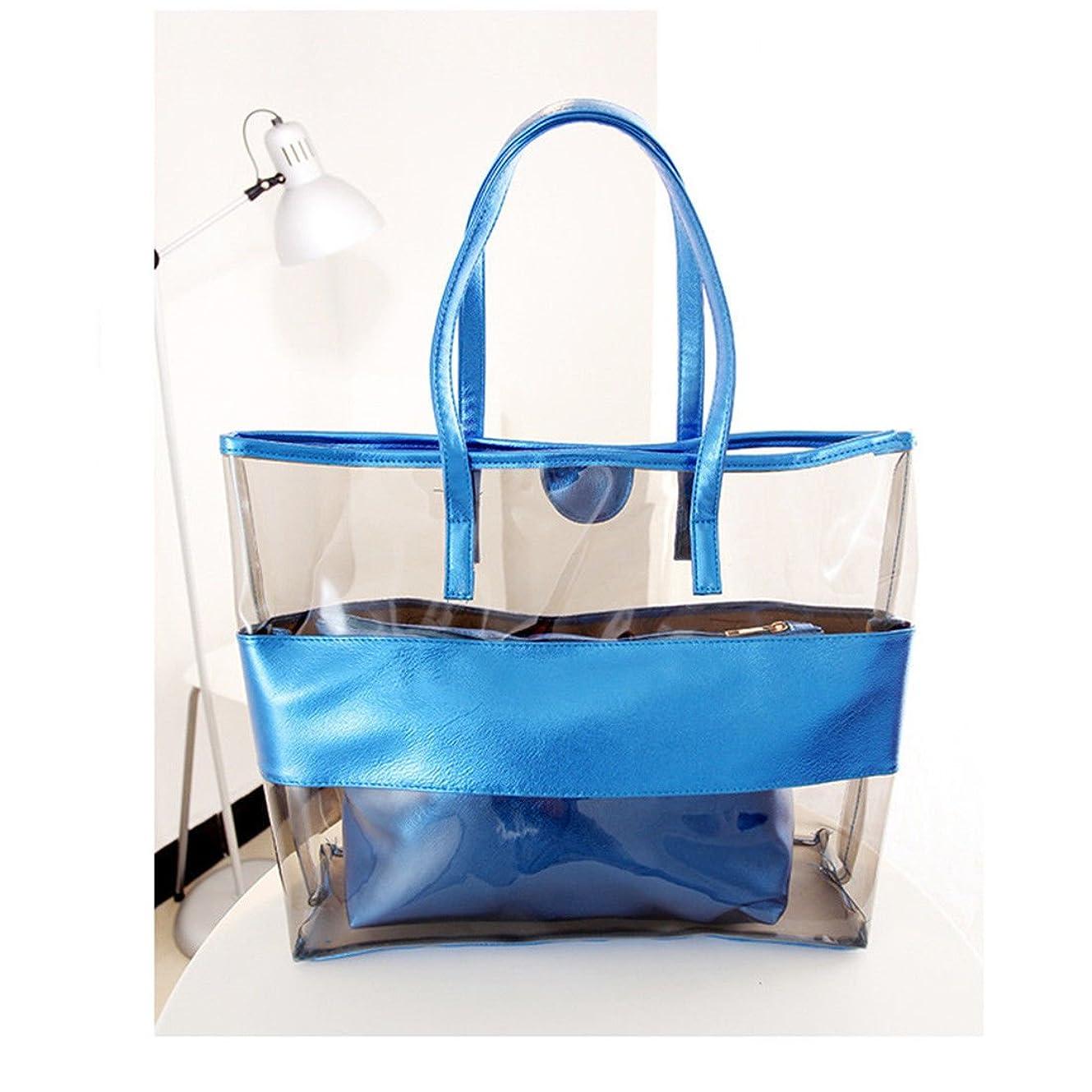 典型的な傷跡クレタシューズ&バッグ/ バッグ?スーツケース / レディースバッグ?財布 / バッグ /ショルダーバッグ/ New Gift For Womens Transparent Bag Jelly Clear Beach Handbag Tote Shoulder Bag