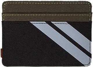 Herschel Supply Co. Charlie RFID Black/Ivy Green/Light Grey Crosshatch One Size