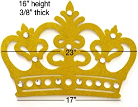 Best large gold crown for backdrop Reviews