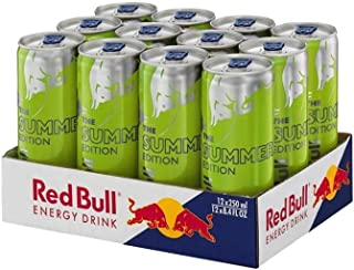 Red Bull Green Edition 12x250 ml Dose Energy Drink Kiwi BE/NL